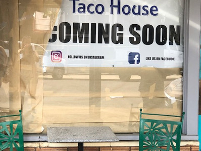 Coming Soon To Downtown Dallas  - AZULS Taco House -  & a little story I learned.......