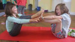 fun friends yoga