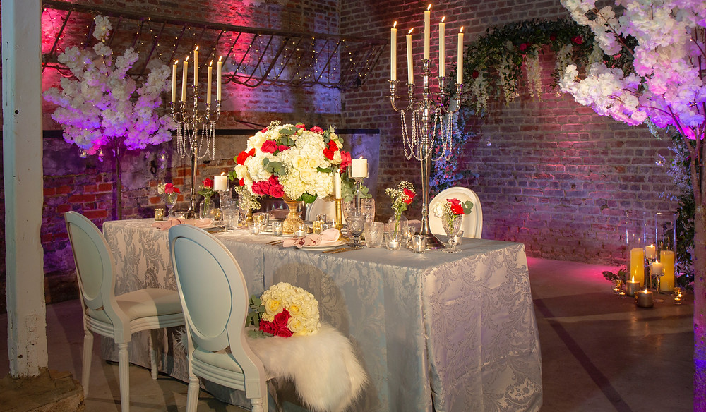 Romantic Top Table Design