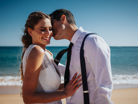 Beautiful Elopement in the Algarve