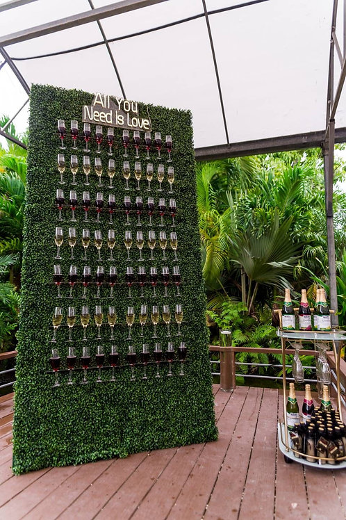 Prosecco Wall Hire London