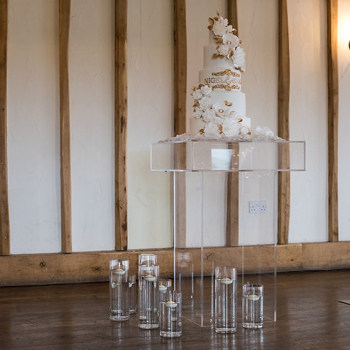 Acrylic Cake Table Hire