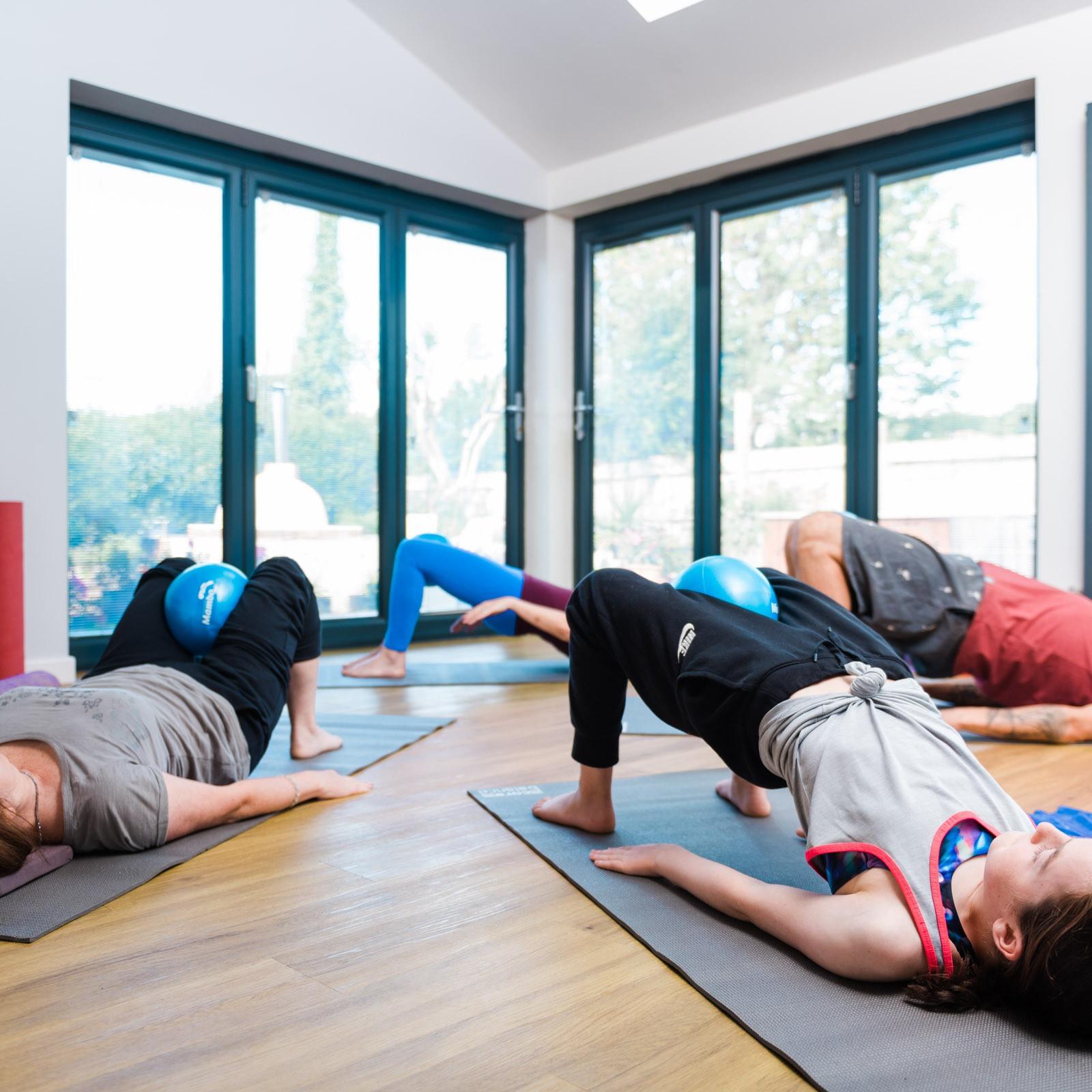 1 Hour Online Mat Pilates Group Class
