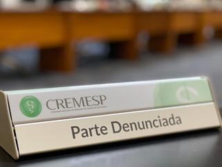 Sindicância, Processo Ético e Julgamento no CREMESP