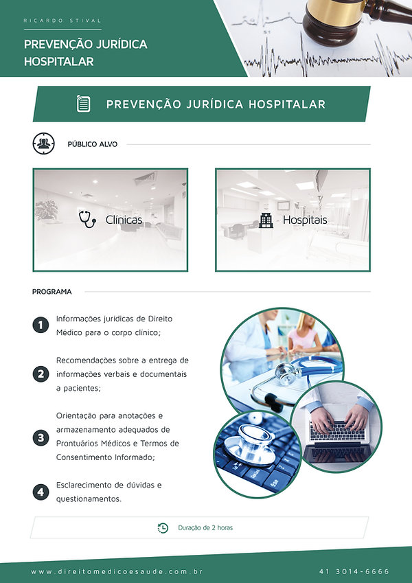 Prevenção Jurídica - Advogado Direito Médico