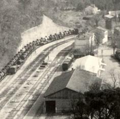 A une époque où la gare de Sommières était encore en fonction