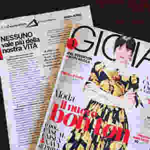 Gioia magazine. La mia storia di violenza e rinascita.