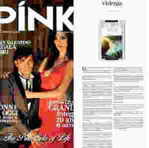 Pink magazine, Nadia Nunzi, Ti amo anima mia