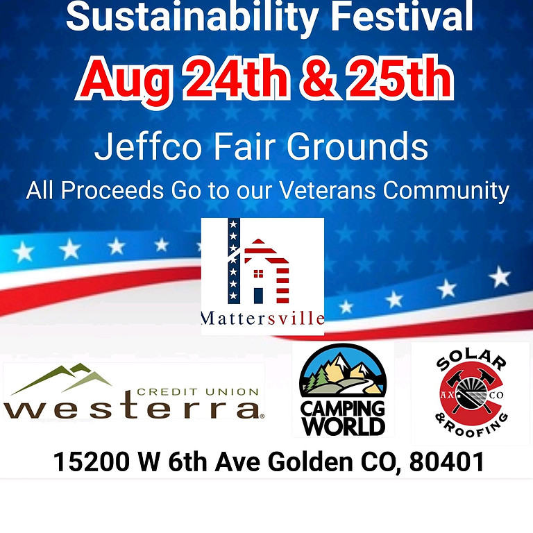 1st Annual Sustainability Expo for Veterans, brought to you by Westerra Credit Union