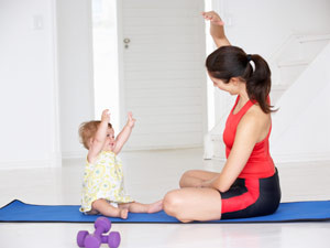 Postpartum Exercise to Restore The Core