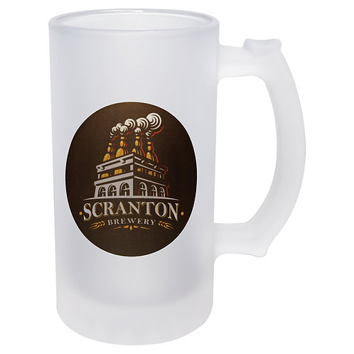 16 oz. Sublimatable Frosted Beer Mug