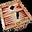 Thumbnail: Schima Wood Backgammon Game Set