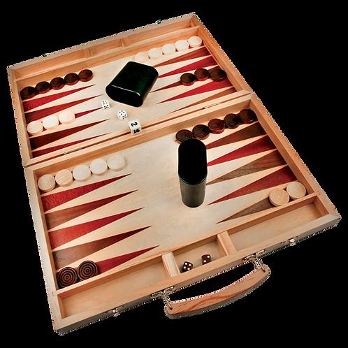 Schima Wood Backgammon Game Set