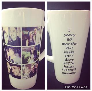 Anniversary Latte Mug