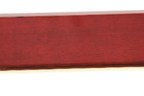 Rosewood Piano Finish & Gold Metal Name Bar