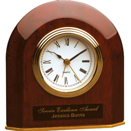 copy of Rosewood Piano Finish Desk Clock with Pen
