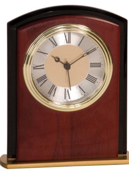 Mahogany Finish Clock