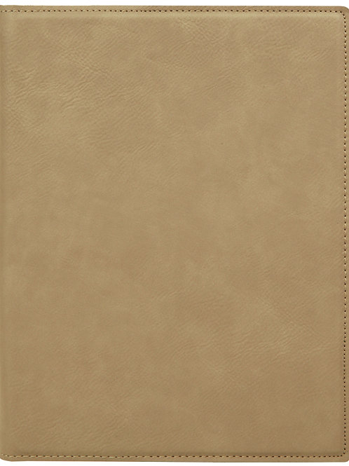 """7"""" x 9"""" Laserable Leatherette Small Portfolio with Notepad"""