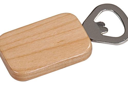 Wooden Magnetic Bottle Opener