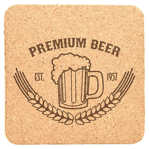 Eco- Friendly Cork Coaster