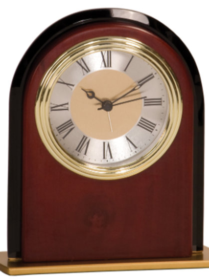 Mahogany Finish Clock