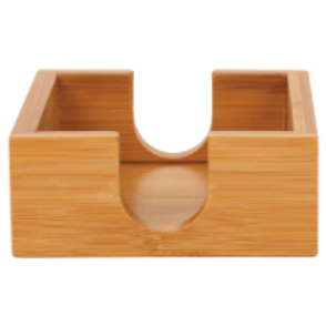 Bamboo Coaster Caddy/Holder