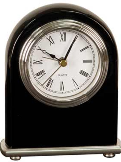 Black Piano Finish Desk Clock