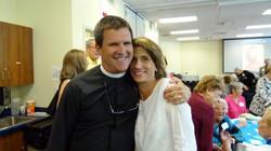 Celebrating with Rev. Jim Cook