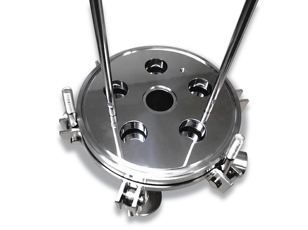 SPS ASME 5 round filter housing base