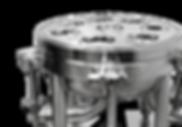 SPS ASME 7 round filter housing base