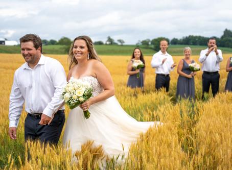 Rain or Shine - An Owen Sound Backyard Wedding - July 11th 2020