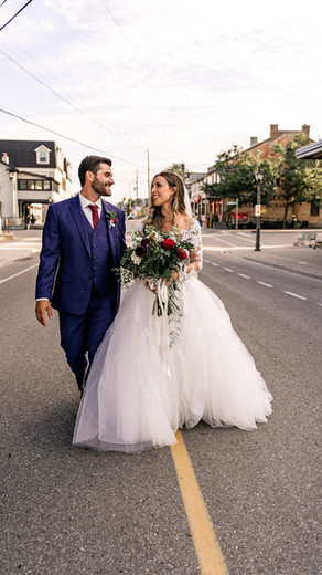 A fairy tale wedding at Cellar 52 in St. Jacobs Village