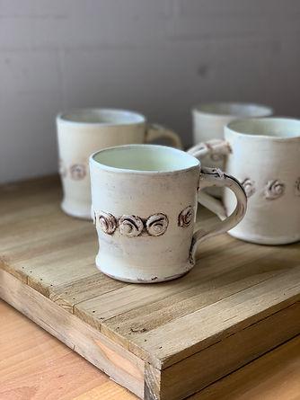 Rosary Mug White