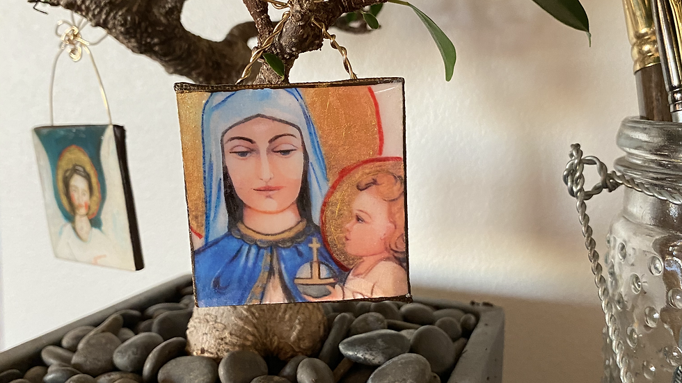 Our Lady of the Gulf Ornament