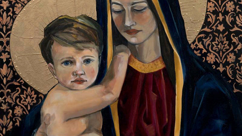 Madonna and Child - The Innocent