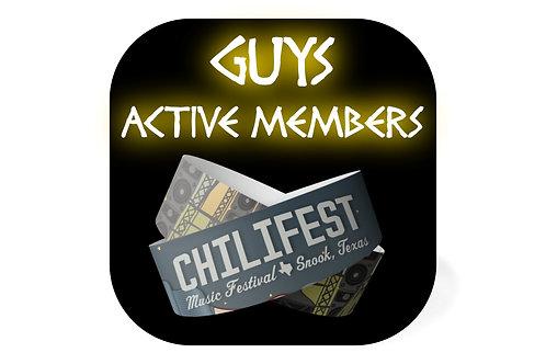 Guys Ticket | Theta Theta Active Members