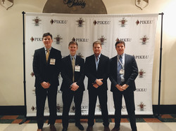 Brothers attend the Chapter Executives Conference
