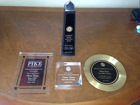 Theta Theta Wins International Awards!