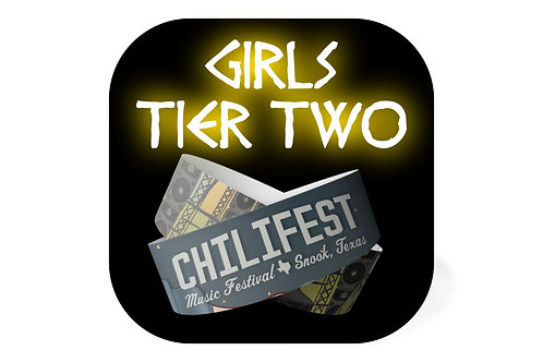 Girl Ticket | Tier Two