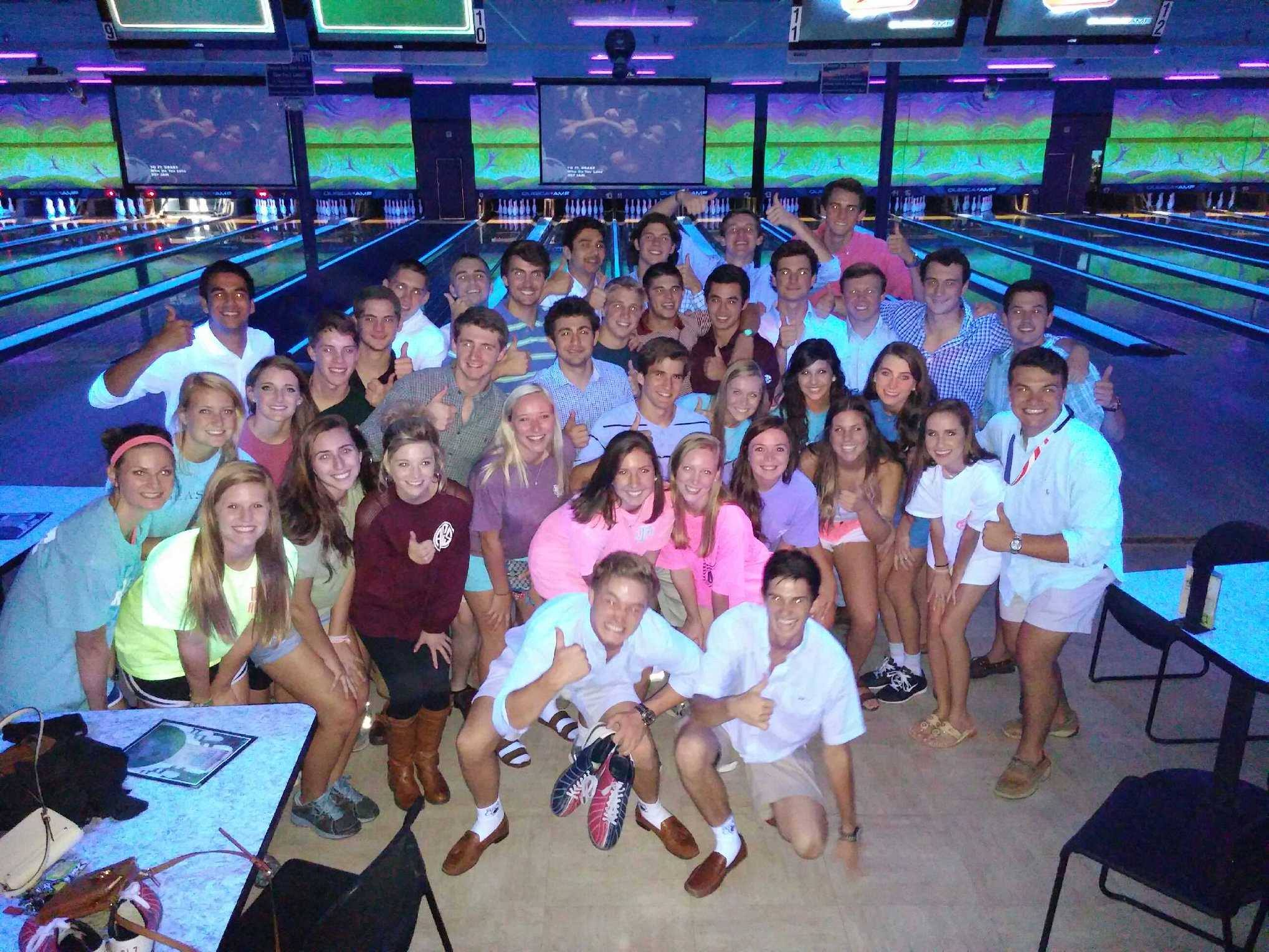 Bowling Pledge Mixer