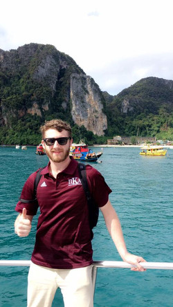 Brother Chris Gale visit the Phi Phi islands over Winter Break