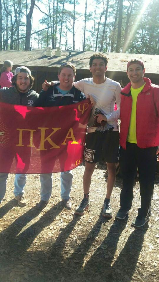 Brother's Early & De Beer cheer on Brother Aaron Gonzales in running a 100 mile marathon