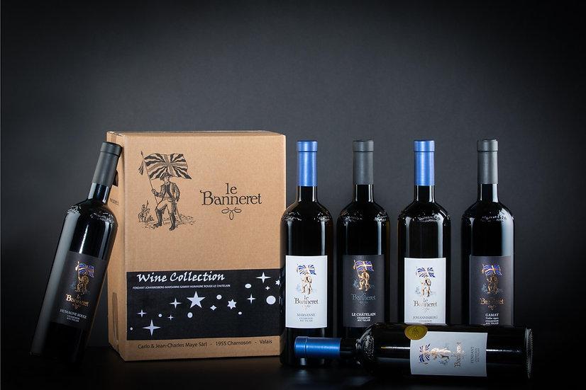 Carton Wine Collection du Banneret
