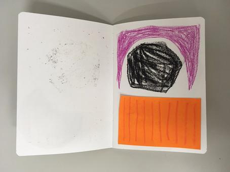 Choosing to work in smaller sketchbooks - LO4