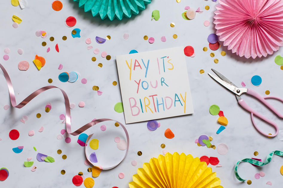 Yay its your birthday card