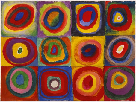Kandinsky colour theory research - LO7
