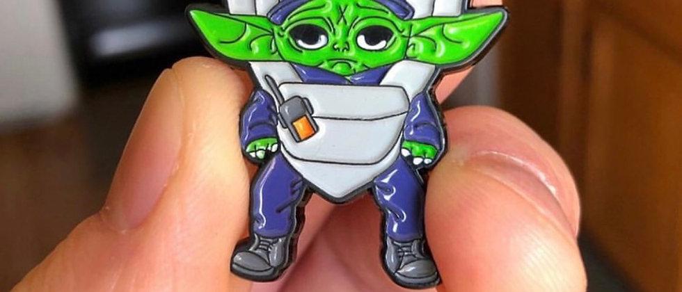 BABY EMT LAPEL PIN