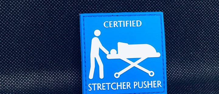 stretcher pusher (pvc)