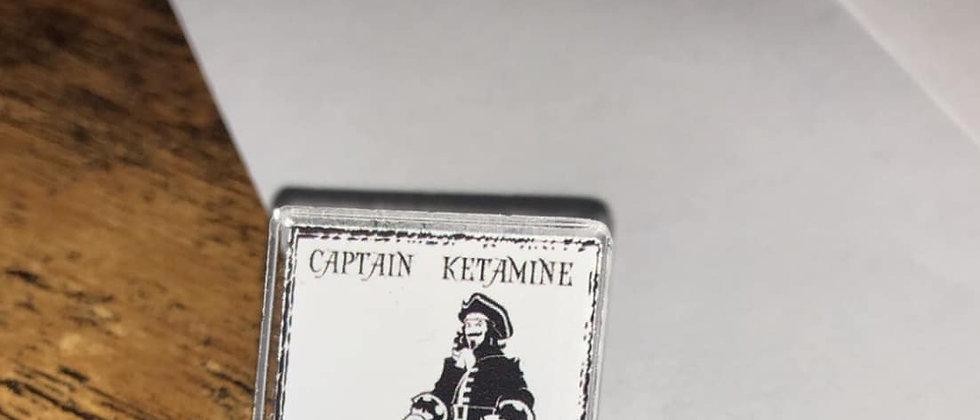 Captain Ketamine (lapel pin)