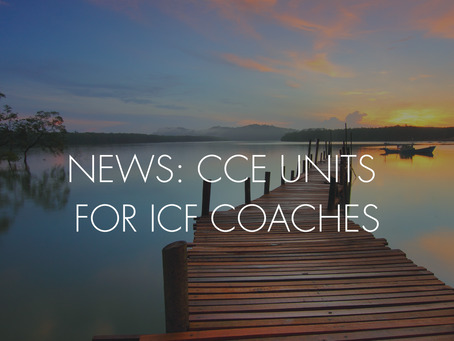 CCE UNITS FOR ICF COACHES